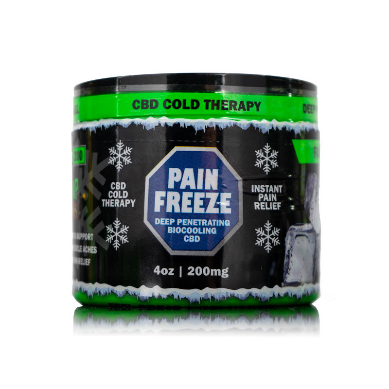 HEMP BOMBS CBD PAIN FREEZE 4oz 200mg
